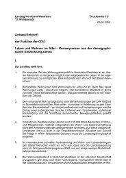 Leben und Wohnen im Alter - CDU Kreis Viersen