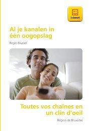 Al je kanalen in één oogopslag Toutes vos chaînes ... - Klantenservice