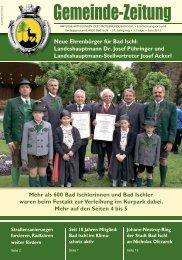 Juni 2012 - Stadtgemeinde Bad Ischl - Land Oberösterreich