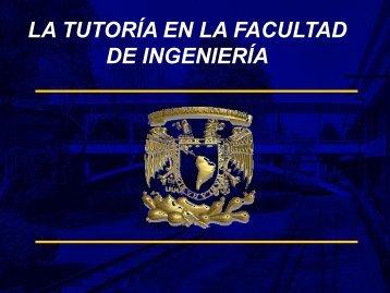 Tutoría Director de Ingeniería - UNAM