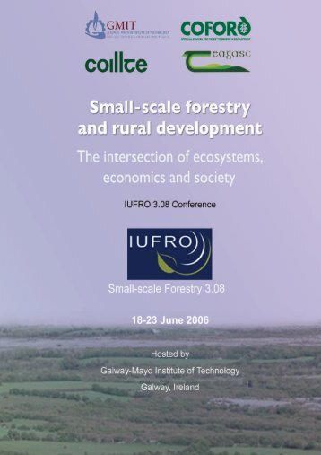 Small-scale Forestry and Rural Development - The Society of Irish ...