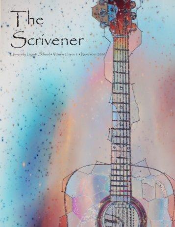 Submit to The Scrivener! - University Liggett School