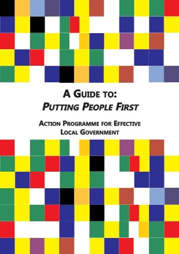 Putting People First Guide - Department of Environment and Local ...