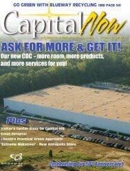 CAPIT AL NOW V olume 3, Number 2 www .capitallighting.com