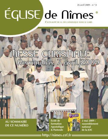 ÉGLISE de Nîmes - Diocèse de Nîmes, Uzès, Alès - Eglise ...