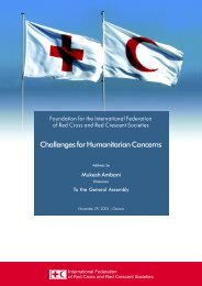 Challenges for Humanitarian Concerns - Reliance Industries Ltd