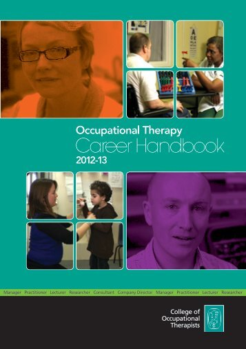 Career Handbook - College of Occupational Therapists