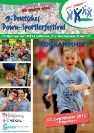 PROGRAMMHEFT - Down Sportlerfestival