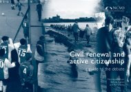 Civil renewal and active citizenship - National Council for Voluntary ...