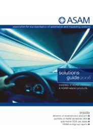 2006 ASAM Solutions Guide
