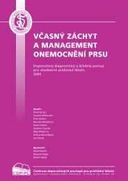 včasný záchyt a management onemocnění prsu - Společnost ...