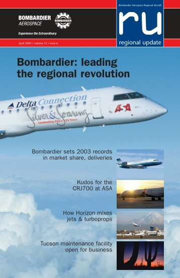Bombardier: leading the regional revolution