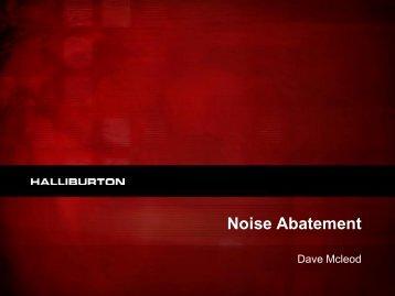Noise Abatement - DrillSafe