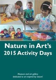 Activity Brochure 2015