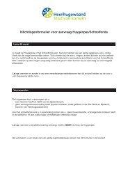 aanvraagformulier Huygenpas - Gemeente Heerhugowaard
