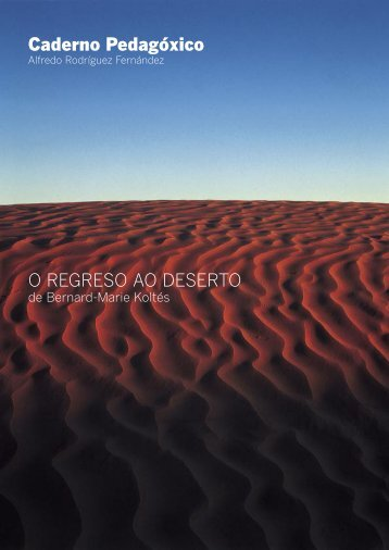 Caderno pedagóxico - Centro Dramático Galego
