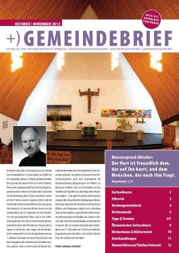 gemeindebrief - Erlöserkirche