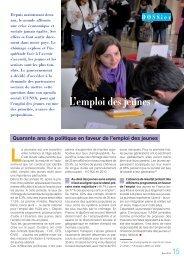 Dossier emploi des jeunes 2011 - UNSA