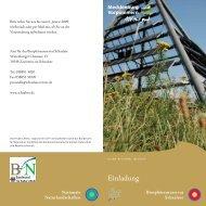 Einladung Klima.FH11 - im Biosphärenreservat Schaalsee