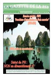 La Gazette de la FPS / 1er et 2ème trimestres 2006 / N° 34-35 Page ...