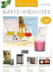 Gäste-HIGHlItes - PartyLite