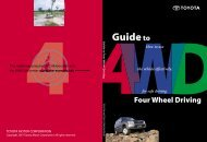 Guide to Four Wheel Driving - Eulex