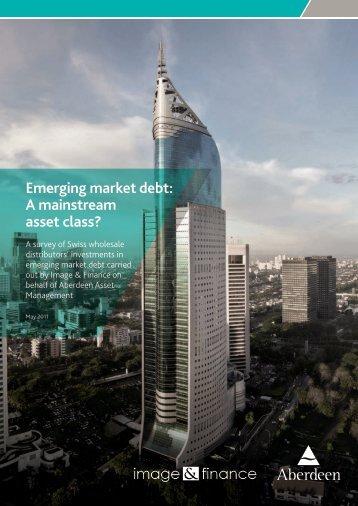 Emerging market debt: A mainstream asset class? - Imagefinance.com
