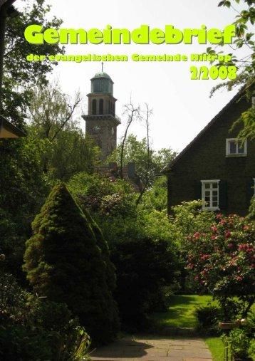 Gemeindebrief 02 - Evangelisch in Hiltrop Erlöserkirche ...