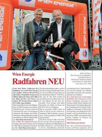 Radfahren NEU - pro umwelt