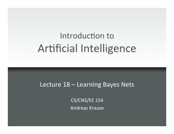 Bayesian network - Caltech