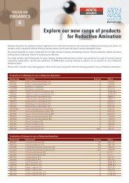 Reductive Amination - Acros Organics