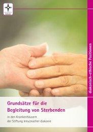 Grundsätze für die Begleitung von Sterbenden - Ethikberatung im ...