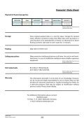 Freesole® Data Sheet - McNett Europe - Page 3