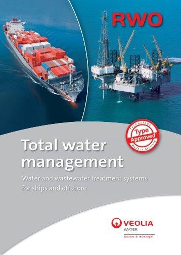 Total water management - RWO Marine Water Technology