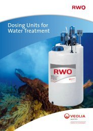 Dosing Units for Water Treatment - RWO Marine Water Technology