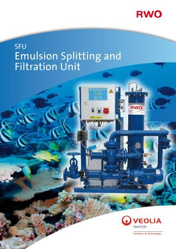 Emulsion Splitting and Filtration Unit - RWO Marine Water Technology