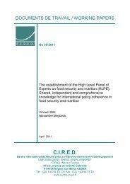 DT/WP No 2011-30 - Centre International de Recherche sur l ...