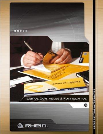 Libros Contables & Formularios - Rhein