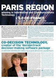 L'ÎLE-DE-FRANCE - Co-Decision Technology