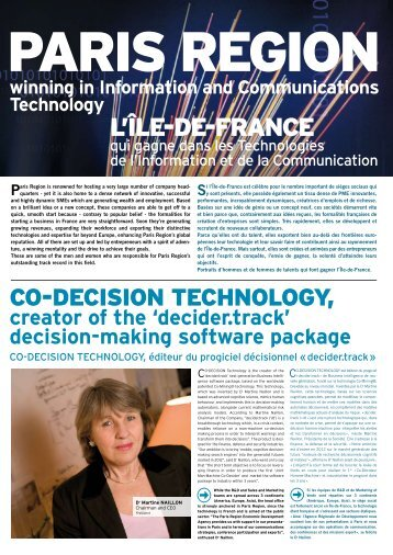 L'ÎLE-DE-FRANCE - Co-Decision Technology