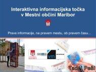 Interaktivna informacijska točka v Mestni občini Maribor - eLivingLab