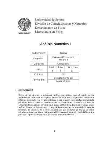 9447 - Licenciatura en Física - Universidad de Sonora