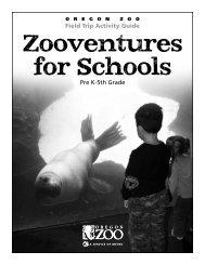 pre K-5th Grade - Oregon Zoo