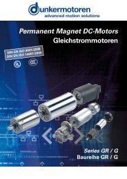 Permanent Magnet DC-Motors Gleichstrommotoren - Eriks UK