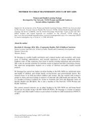 WHLP MTCT HIV_AIDS.pdf - The network - Towards Unity For Health