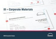 Corporate Materials III – Corporate Materials - MAN Brand Portal