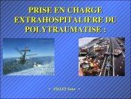 Polytraumatisé,Dr Fillet - Association Nationale des Médecins du ...