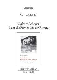 Norbert Scheuer: