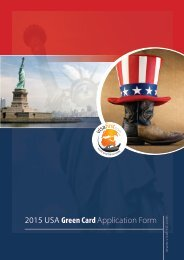 2013 USA Green Card Application Form - Visa First