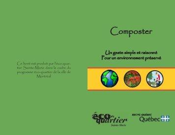 Livret - Composter, un geste simple et raisonné ... - Recyc-Québec